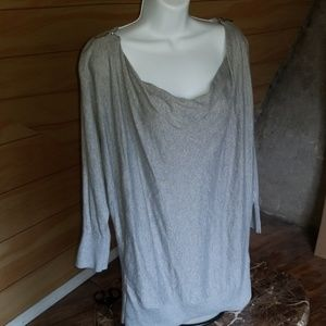 Michael Kors Tunic Sweater w/ Cowl Neck